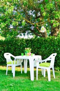 昆塔达斯阿门德尔斯酒店外面的花园