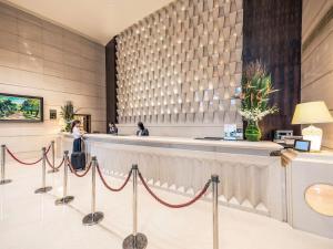 上海虹桥美仑美居酒店 大厅或接待区