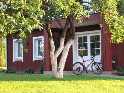 Villa Sofia Boutique Trakai外面的花园