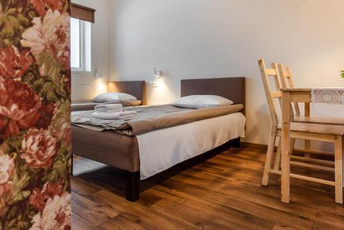 Bestes apartamenti客房内的一张或多张床位
