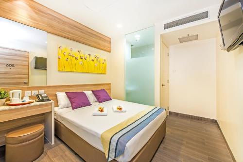 Hotel 81 Dickson - SG Clean客房内的一张或多张床位