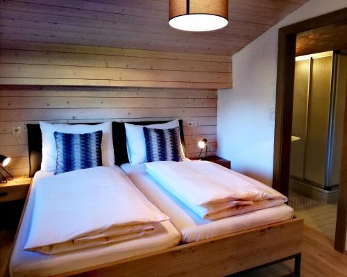 Haus Vordertiefenbach客房内的一张或多张床位