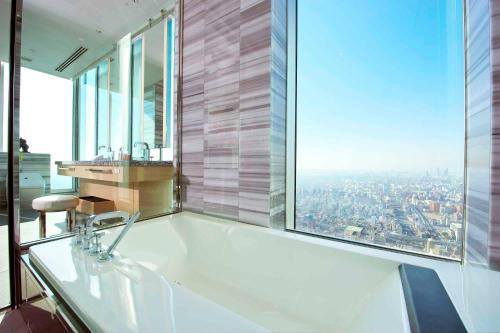 大阪万豪酒店的一间浴室