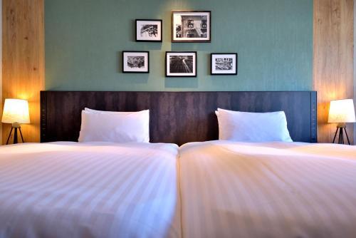 科比波特匹亚酒店客房内的一张或多张床位