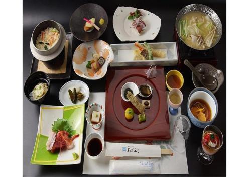 Asafuji温泉酒店提供给客人的早餐选择