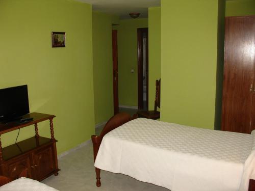 阿尔戈栋旅馆客房内的一张或多张床位