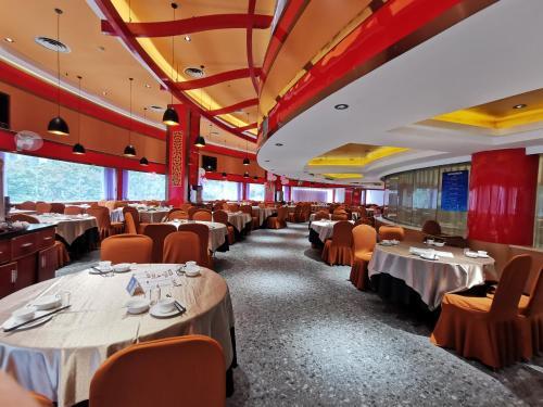 珠海粤海酒店餐厅或其他用餐的地方