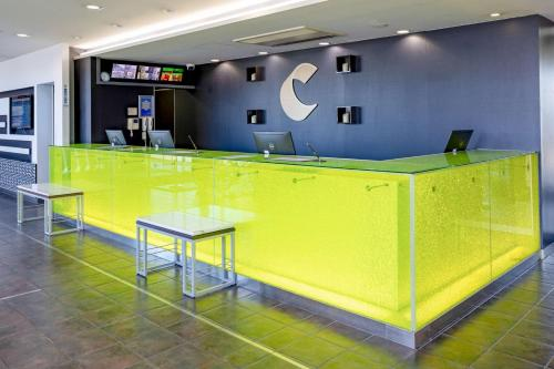 中央国际机场康福特茵酒店大厅或接待区
