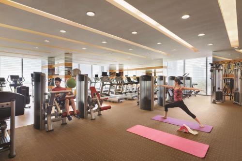 青岛香格里拉的健身中心和/或健身设施