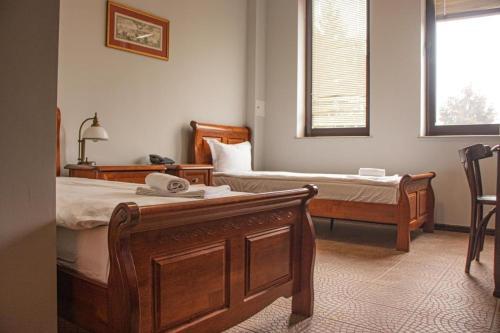 Rentumi Hotel Warszawa (Fort Hotel)客房内的一张或多张床位