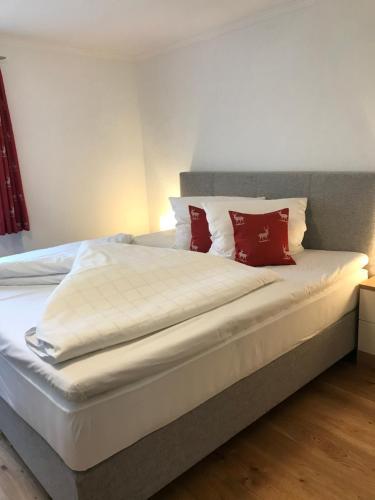 嘎斯霍夫豪斯普酒店客房内的一张或多张床位