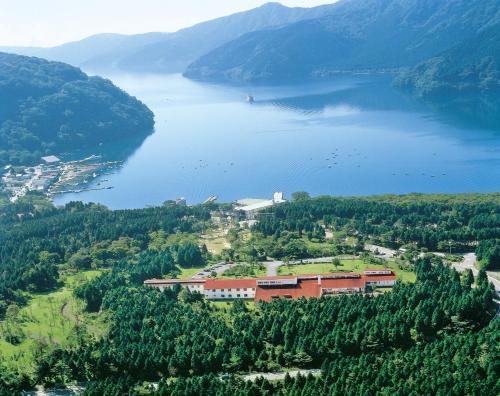 箱根湖酒店鸟瞰图