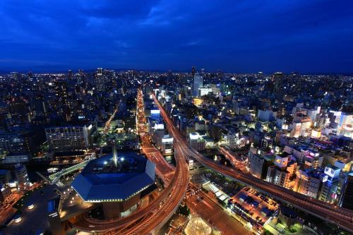大阪蒙特利格拉斯米尔酒店鸟瞰图