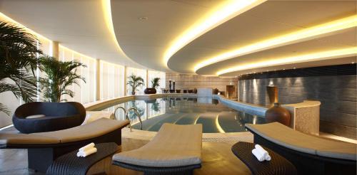 唐拉雅秀天津酒店酒廊或酒吧区