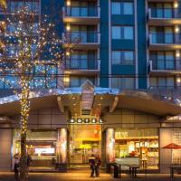 蓝色地平线酒店,位于温哥华的酒店