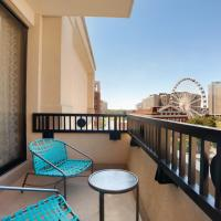美国酒店亚特兰大市中心 - 希尔顿逸林酒店,位于亚特兰大的酒店