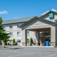 Quality Inn & Suites at Olympic National park,位于塞奎姆的酒店