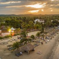 卡塔赫纳菲尼克斯海滩酒店,位于巴鲁岛的酒店