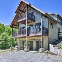 Timber Frame Cabin with South Holston Lake Views,位于阿宾顿的酒店