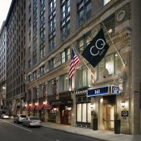 波士顿俱乐部住宅酒店,位于波士顿的酒店