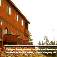 峡谷广场尊贵一室公寓和普通公寓酒店,位于图萨扬的酒店