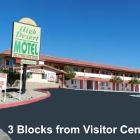 约书亚树国家公园高沙漠汽车旅馆,位于约书亚树的酒店