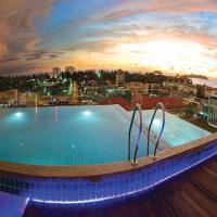 查亚旅馆,位于哥打京那巴鲁的酒店