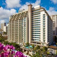 威基基海滩希尔顿花园酒店,位于檀香山的酒店
