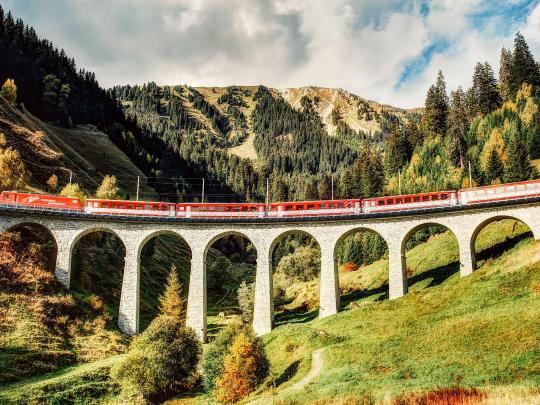 精彩铁路之旅:冰川列车